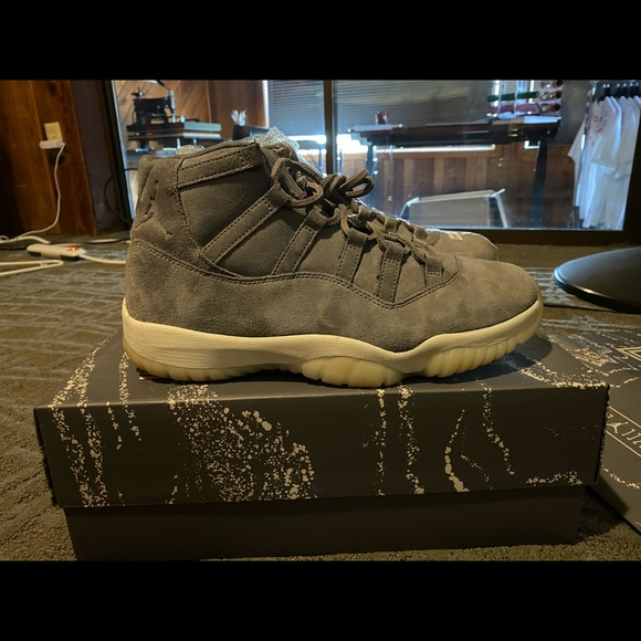 Jordan Other - Air Jordan 11 retro premium 'grey suede'